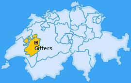 Karte von Giffers