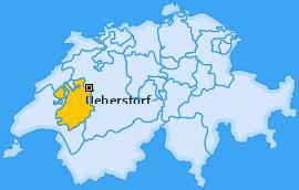 Karte von Ueberstorf