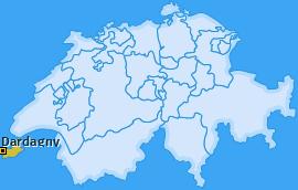 Karte von Dardagny