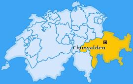Karte von Churwalden