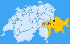 Karte von Felsberg