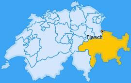 Karte von Fläsch
