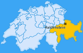 Karte von Haldenstein