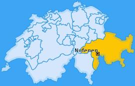 Karte von Nufenen