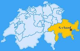 Karte von S-chanf