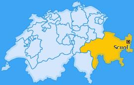 Karte von Scuol