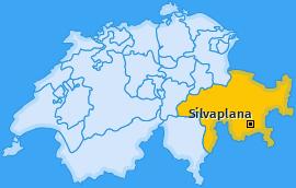 Karte von Silvaplana