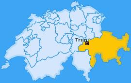 Karte von Trun