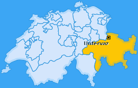 Karte von Untervaz