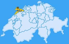 Karte von Alle