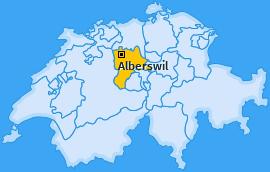 Karte von Alberswil