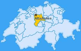 Karte von Altishofen