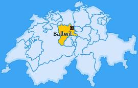 Karte von Ballwil