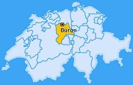 Karte von Büron