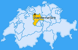 Karte von Dagmersellen