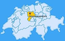 Karte von Grosswangen