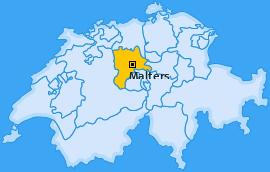 Karte von Malters