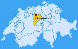 Karte von Mauensee