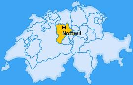 Karte von Nottwil