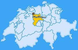 Karte von Pfaffnau