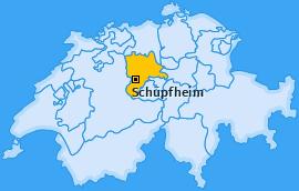 Karte von Schüpfheim