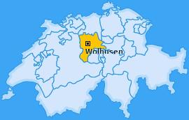 Karte von Wolhusen