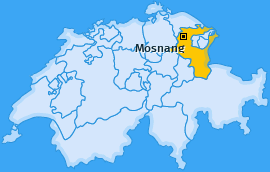 Karte von Mosnang