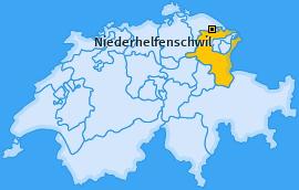Karte von Niederhelfenschwil