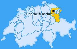 Karte von Oberhelfenschwil