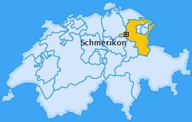 Karte von Schmerikon