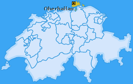 Karte von Oberhallau