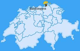 Karte von Rüdlingen