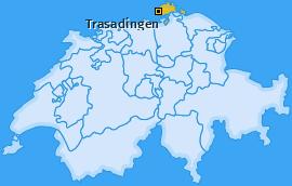 Karte von Trasadingen