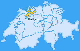 Karte von Halten