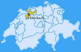 Karte von Luterbach