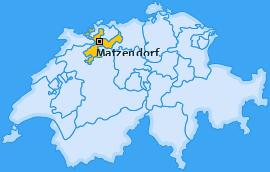 Karte von Matzendorf