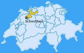 Karte von Schnottwil