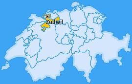 Karte von Zullwil