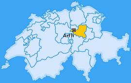 Karte von Arth