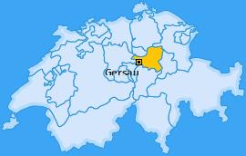 Karte von Gersau