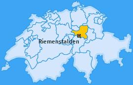 Karte von Riemenstalden