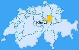 Karte Schwyz Schwyz