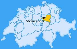 Karte von Steinerberg