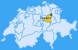 Karte von Tuggen