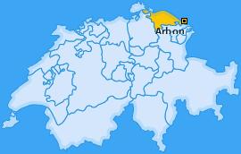 Karte von Arbon