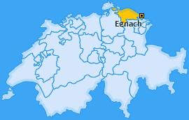 Karte von Egnach