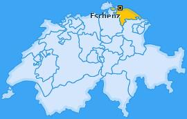 Karte von Eschenz