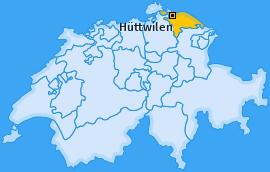 Karte von Hüttwilen