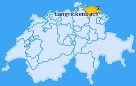 Karte von Langrickenbach