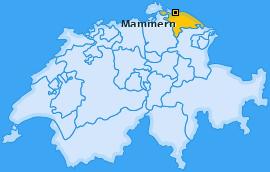 Karte von Mammern